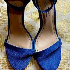 Anne Michelle Denim Sandals